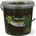 Огірки солені Ольвіта 900г