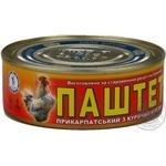 Паштет Галицкий смак прикарпатский с куриным мясом 250г