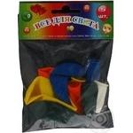 Кулі повітряні Все для свята Party Favors асорті з малюнком 5шт 61130/5 - купити, ціни на Novus - фото 3