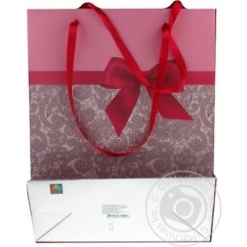 Пакет подарочный Timeopt Premium L 30x23x10.6см - купить, цены на Novus - фото 5