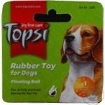 Іграшка для тварин Topsi М'яч плаваючий м'яка гума 109 6см