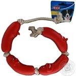 Іграшка Trixie для тварин Сосиски на мотузці 3252 х4 - купить, цены на МегаМаркет - фото 1