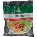 Набір одноразового посуду Domi колір 6 персон