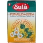 Lollipop Sula Nature's favor with chamomile sugar free for diabetics 40g packaged Russia