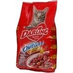 Корм для котів сухий Darling М'ясо з овочами 2кг