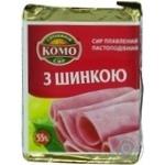 Сыр Комо с ветчиной плавленый пастообразный 55% 90г Украина