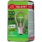 Лампа Бєлсвєт прозора100Вт цоколь Е27