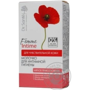 Молочко для інтимної гігієни Dr Sante М'який дотик 230мл - купити, ціни на Novus - фото 3