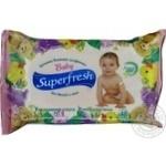 Napkins Superfresh for children 48pcs 200g Ukraine
