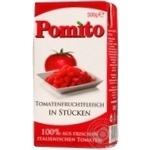 Vegetables tomato Pomito tomato pieces 500g tetra pak Italy
