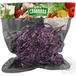 Vegetables cabbage redhead Slavjanka red fresh 200g