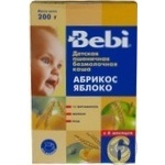 Pap Bebi apple with apricot dairy-free for children 250g