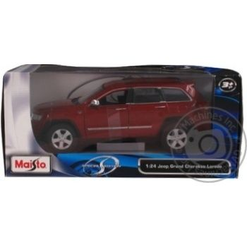 Maisto Jeep Grand Cherokee Car Toy 1:24 - buy, prices for Novus - image 2