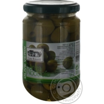 olive Casa rinaldi green pitted 300g