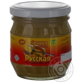 Гірчиця Руська Чугуев Продукт тв.200г