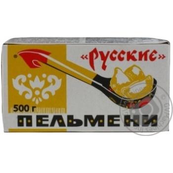 Пельмені Руські Морозко 500г