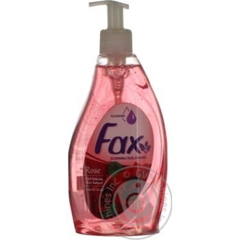 Soap Fax with rose extract liquid 400ml