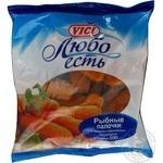 Рибні палички Vici Любо Есть в паніровці заморожені 500г Росія