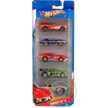 Подарочный набор автомобилей Hot Wheels 5шт - купить, цены на Novus - фото 2