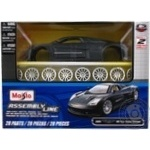 Автомодель збірна 1:24 Chrysler ME Four Twelve Concept Maisto 39250 metGrey