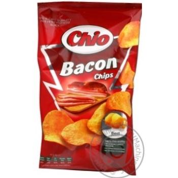 Чипсы Чио Чипс картофельные со вкусом бекона 75г Польша - купить, цены на Восторг - фото 1