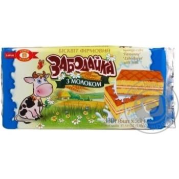 Бисквит Бисквит-шоколад Забодайка бисквит молоко 330г Украина