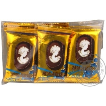 Candy Zdorovya vam Milady with glace plombieres on fructose 110g sachet Ukraine