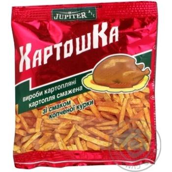 Соломка Юпитер с курицей 25г в упаковке Украина