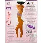 Колготы женские Conte Active 20ден р.3 Nero - купить, цены на СитиМаркет - фото 8