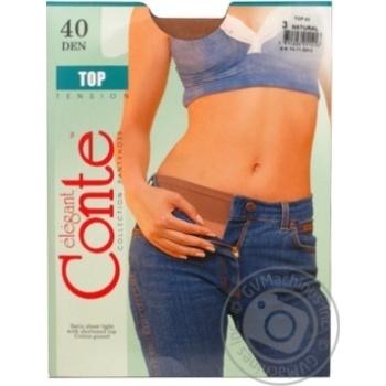 Колготы Conte Top 40 Den р.3 natural шт - купить, цены на Novus - фото 7