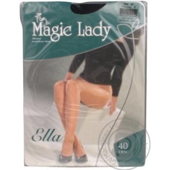 Magic Lady Ella Black Women's Tights 40den 2s