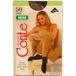 Шкарпетки жін. поліамідні Conte Elegant Microfibra 50 (1 пара) р.23-25 Nero