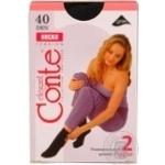Шкарпетки жіночі Conte Tension 40 2 пари розмір 23-25 nero