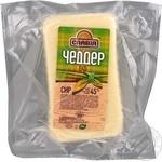 Сыр Славия Чеддер Эко 45% Украина