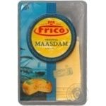Сыр Фрико маасдам твердый нарезка 48% 150г Нидерланды