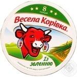 Сыр Вэсэла коривка с зеленью плавленый 8 порций 50% 140г Словакия