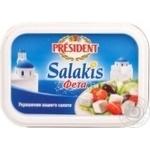 Сыр Президент Салакис фета мягкий рассольный 45% 500г Сербия