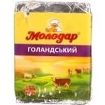 Сырный продукт Молодар Голландский плавленый 45% 90г