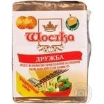 Cheese Shostka Druzhba processed 45% 100g Ukraine