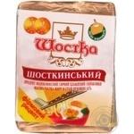 Продукт сырный Шостка Шосткинский плавленый молокосодержащий ломтевой 55% 100г Украина