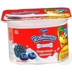 Продукт йогуртовый Растишка черника-ежевика 2.5% 115г Украина
