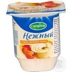 Продукт йогуртний Campina Ніжний з соком абрикоса-манго 1.2% 100г Росія