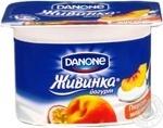 Йогурт Данон Живинка персик-маракуйя 1.5% 115г