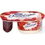 Dessert Danissimo milky with almonds 6.9% 123g Ukraine