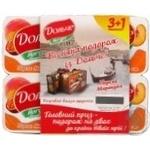 Йогурт Дольче персик-маракуйя 3.2% 120г х 4 шт Украина