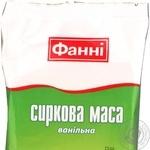 Творожная масса Фанни ванильная 8% 200г Украина
