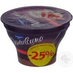 Dessert Danissimo milky strawberries with cream 135g plastic cup Ukraine