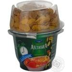 Bifidoyogurt Activia strawberries with cream 180g Ukraine
