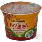 Продукт кисломолочный Галичина Гуслянка карпатская 3.2% 230г Украина