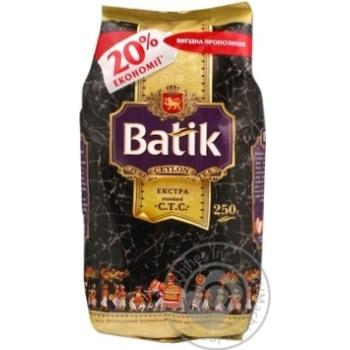 Чай Батик гранулированный черный 250г